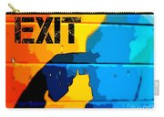 A Colorful Exit  Carry-all Pouch