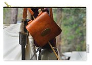 A Confederate Soldiers Life Carry-all Pouch