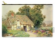 A Cottage By A Duck Pond Carry-all Pouch
