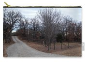 A Country Driveway Near The Brazos River Carry-all Pouch