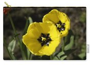 A Couple Of Bright Yellow Tulip Flowers Carry-all Pouch