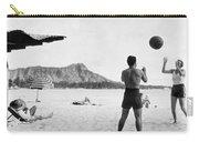 A Couple On Waikiki Beach Carry-all Pouch