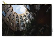 A Courtyard Curved Like A Hug - Antoni Gaudi's Casa Mila Barcelona Spain Carry-all Pouch