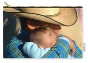 A Cowboy's Love Carry-all Pouch