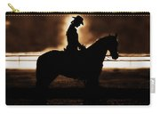 A Cowgirls Prayer Evening Ride Carry-all Pouch
