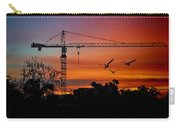 A Crane And Three Birds Carry-all Pouch
