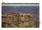 A Crowd And A Canyon Carry-all Pouch