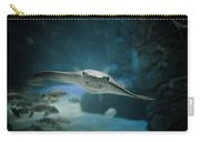 A Crownose Ray Rhinoptera Bonasus Carry-all Pouch