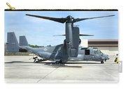 A Cv-22b Osprey On The Ramp At Hurlburt Carry-all Pouch