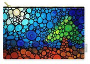 A Day To Remember - Mosaic Landscape By Sharon Cummings Carry-all Pouch