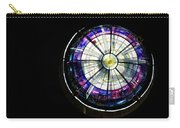A Dazzling Stained Glass Gem Emerging From The Darkness Carry-all Pouch