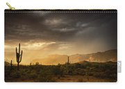 A Desert Monsoon Sunset  Carry-all Pouch