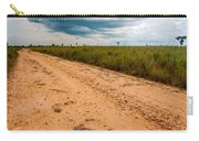 A Dirt Road In The Plains Carry-all Pouch