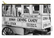 A Dollar A Stick Roman Chewing Candy In Bw Carry-all Pouch