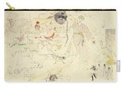 A Dream In Absinthe, 1890 Carry-all Pouch