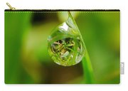 A Drop Of Water For Every Blade Of Grass Carry-all Pouch