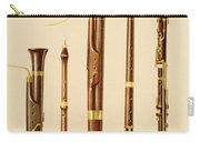 A Dulcian, An Oboe, A Bassoon Carry-all Pouch