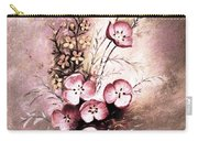 A Dusty Rose Bouquet Carry-all Pouch