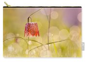 A Fairies' Place II _snake's Head Fritillary Carry-all Pouch