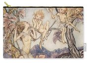A Fairy Song From A Midsummer Nights Dream Carry-all Pouch