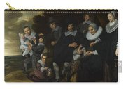 A Family Group In A Landscape Carry-all Pouch
