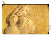 A Female Allegorical Figure Carry-all Pouch