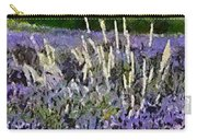 A Field Of Lavender Carry-all Pouch