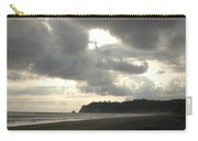 A Figure Strolls Along The Beach, Playa Carry-all Pouch