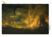 A Fire In The City Carry-all Pouch