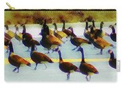 A Flock Of Geese Carry-all Pouch