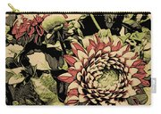 A Floral View Carry-all Pouch