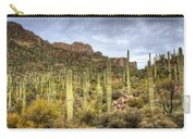 A Forest Of Saguaros  Carry-all Pouch
