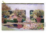 A Formal Garden In Rome Carry-all Pouch