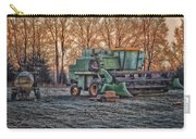A Frosty John Deere Turbo 7700 Combine Carry-all Pouch