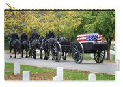 A Funeral In Arlington Carry-all Pouch