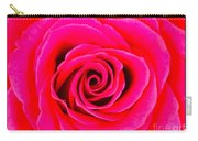 A Fuschia Pink Rose Carry-all Pouch