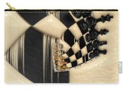 A Game Of Chess Carry-all Pouch by Liane Wright