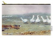 A Game Of Fox And Geese, 1868 Carry-all Pouch