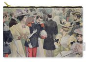 A Garden Party At The Elysee Carry-all Pouch