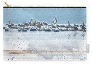 A Gathering Of Pelicans Carry-all Pouch