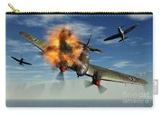 A German Heinkel Bomber Plane Crashing Carry-all Pouch