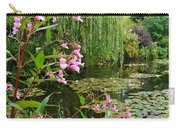 A Glimpse Of Monet's Pond At Giverny Carry-all Pouch