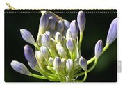 A Glow On Agapanthus Carry-all Pouch