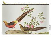 A Golden Pheasant Carry-all Pouch