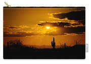 A Golden Southwest Sunset  Carry-all Pouch