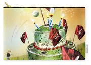 A Golfers Birthday Cake Carry-all Pouch