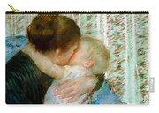 A Goodnight Hug  Carry-all Pouch by Mary Stevenson Cassatt