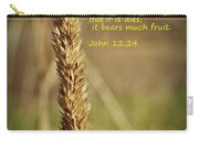 A Grain Of Wheat Carry-all Pouch