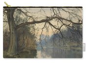 A Great Tree On A Riverbank Carry-all Pouch
