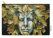 A Green Man Carry-all Pouch